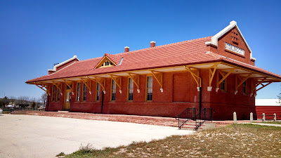Old Sterling City Train Depot