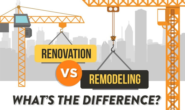 Renovation vs. Remodeling: What's the difference?