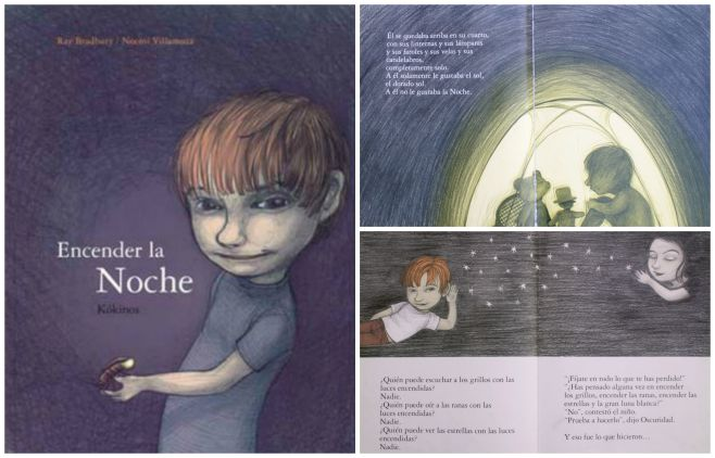 libro infantil superar miedo oscuridad: encender la cohce