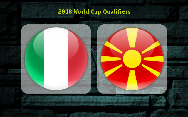 Italy vs Macedonia Full Match & Highlights 6 October 2017