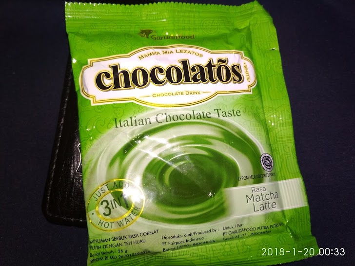 Review Chocolatos Bubuk Rasa Matcha Latte | Green Tea