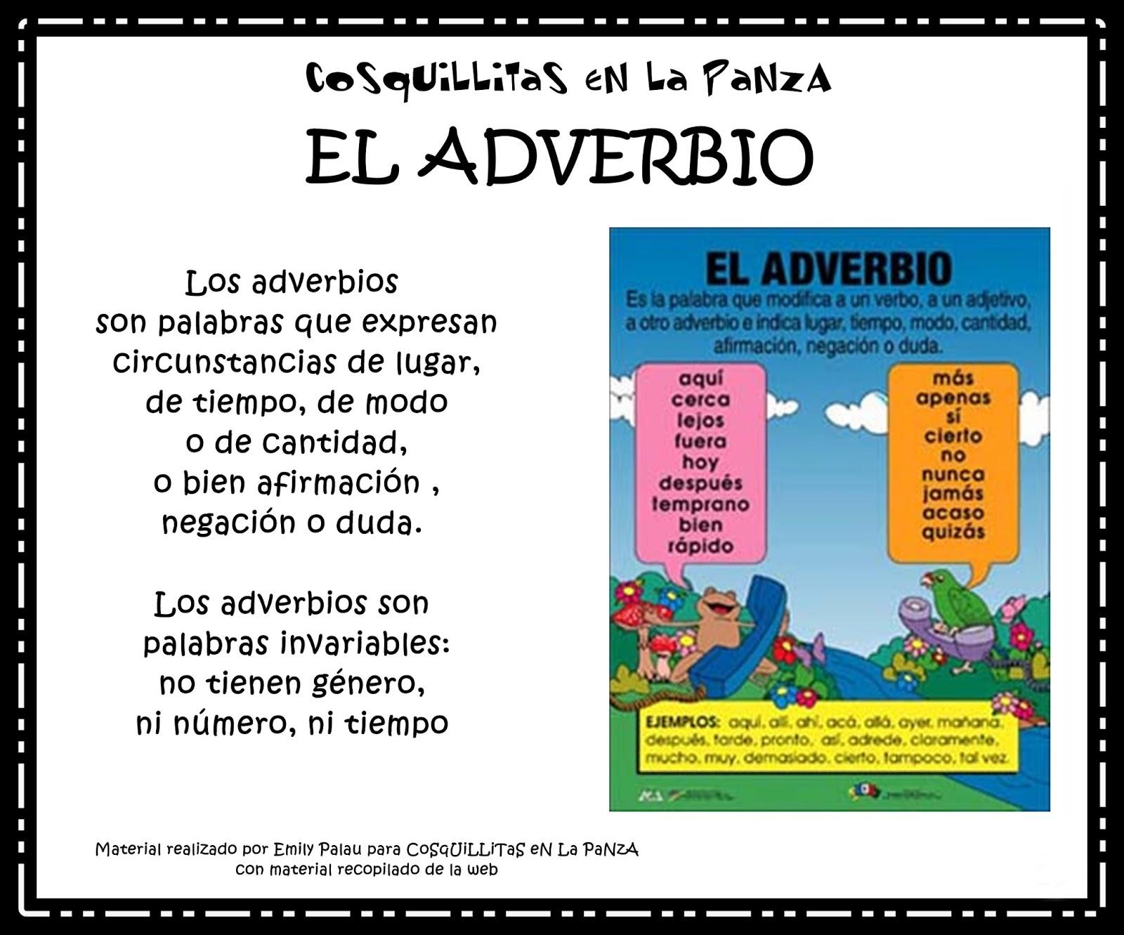 Las Mejores 12 Ideas De Adverbio Adverbios Ayuda Escolar Lectura Y Escritura