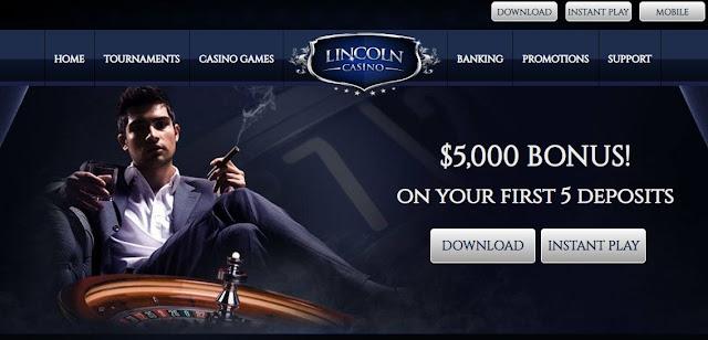 Casino Bonus Usa Lincoln Casino Usa Deposit Match Bonus Codes