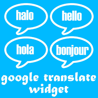 Memasang Widget Google Translate