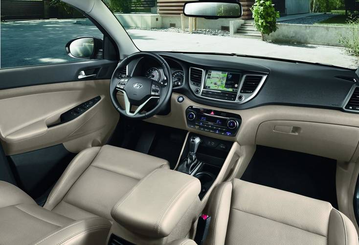 crossover vehicles photos 2017 hyundai tucson dashboard pictures and interior images types cars. Black Bedroom Furniture Sets. Home Design Ideas
