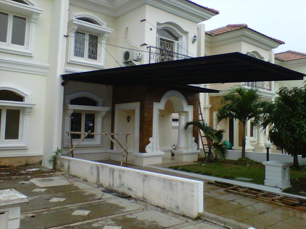 Rangka Baja Ringan Minimalis Canopy Carport,kanopi: Bina Karya Foto/gambar ...
