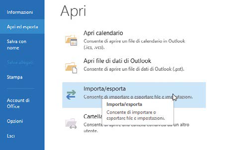 Come importare i contatti di Gmail in Outlook