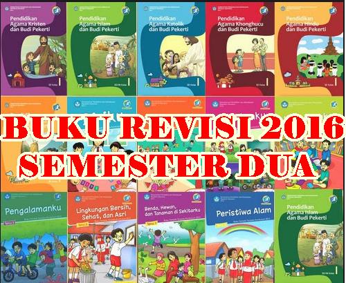 Download Buku K13 Kelas 1 dan 4 Semester 2 Edisi Revisi Terbaruh