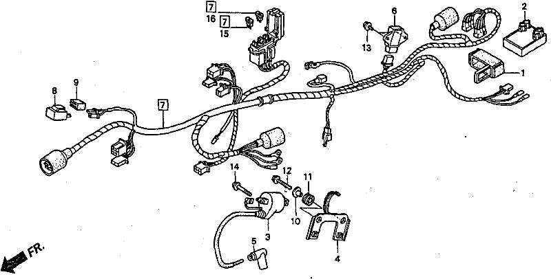 honda nsr 150 rr wiring diagram