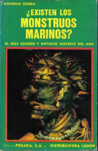 Portada para ¿Existen los Monstruos Marinos? por Antonio Ribera