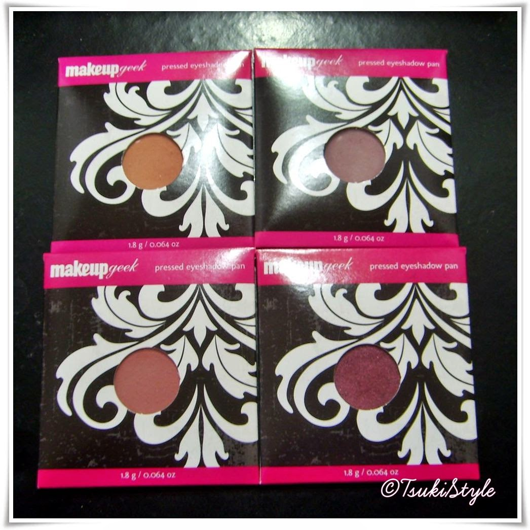 sombras makeupgeek eyeshadow godet
