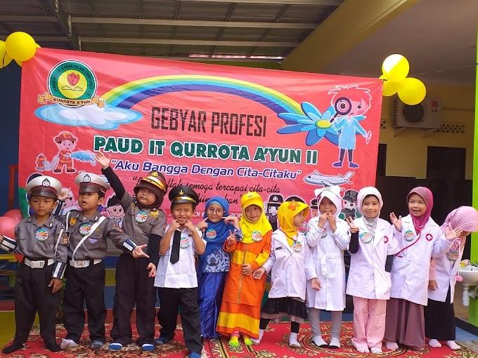Gebyar Profesi PAUD IT Qurrota Ayun 2 Bandar Lampung