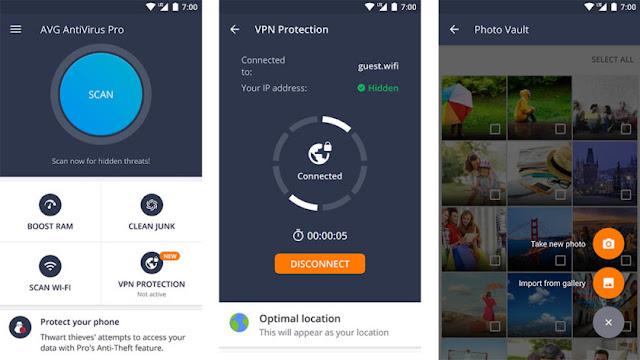 AVG AntiVirus untuk Keamanan Android