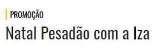 Cadastrar Promoção Rádio Mix FM Natal 2017 Pesadão Iza Participar