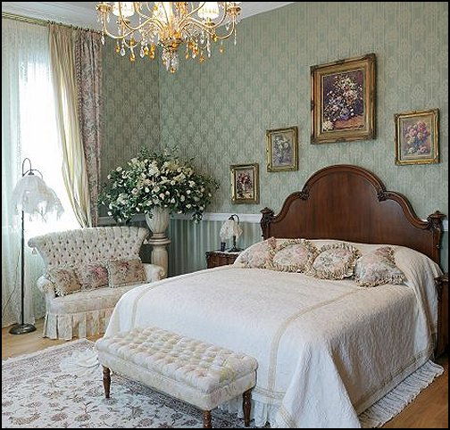 Victorian Decorating ideas - Victorian bedroom ideas - Vintage decorating - Victorian Boudoir - Romantic Victorian Bedroom Decor - lace and ruffles bedding - floral bedding - Vintage decor - vintage themed bedroom for a girl - modern victorian bedroom ideas - Victorian bedroom furniture