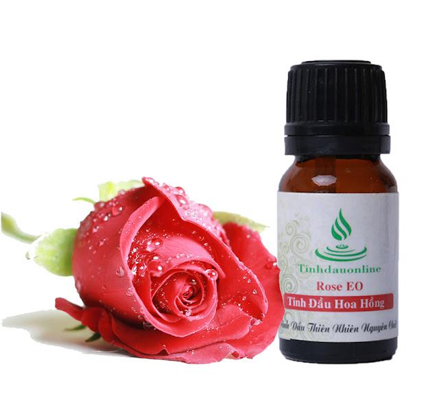 tinh dầu thiên nhiên hoa hồng