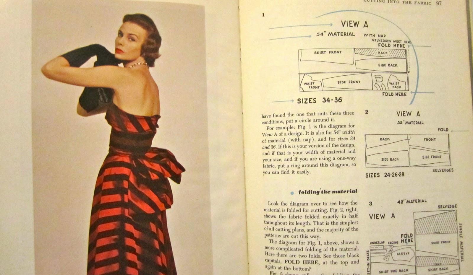 Afbeeldingsresultaat voor vintage sewing book
