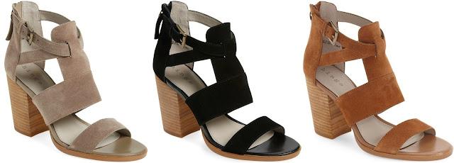 Hinge Cora Block Heel Sandals $60 (reg $90)