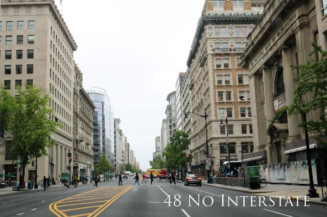 48 No Interstate back roads cross country coast-to-coast road trip Washington DC USA capital city
