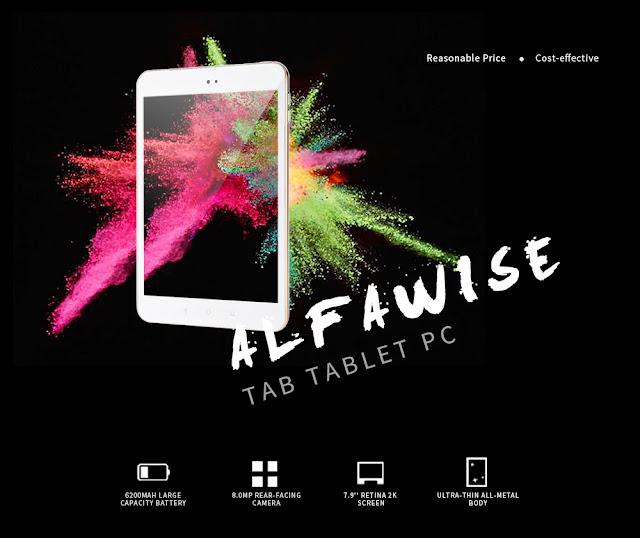 Coupon for Alfawise Tab Tablet PC, Smart Gearbest