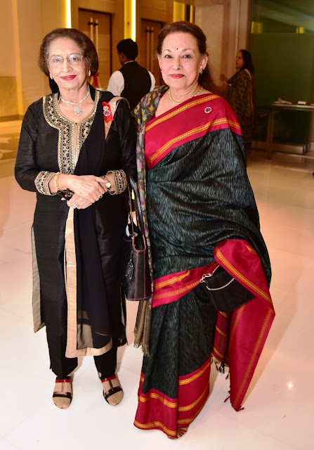 Pratibha Chandra, President - Quota International with Neeta Khanna