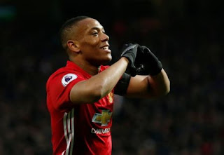 Arsenal Minati Penyerang Manchester United Anthony Martial