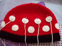 GORRO MINNIE A CROCHET