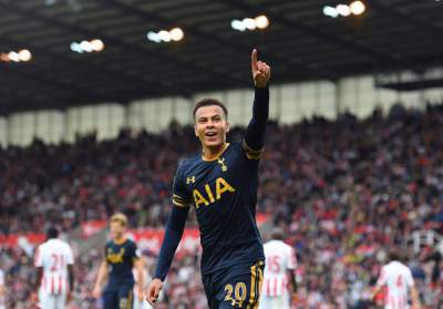 Alli second in the goalscoring midfielder charts