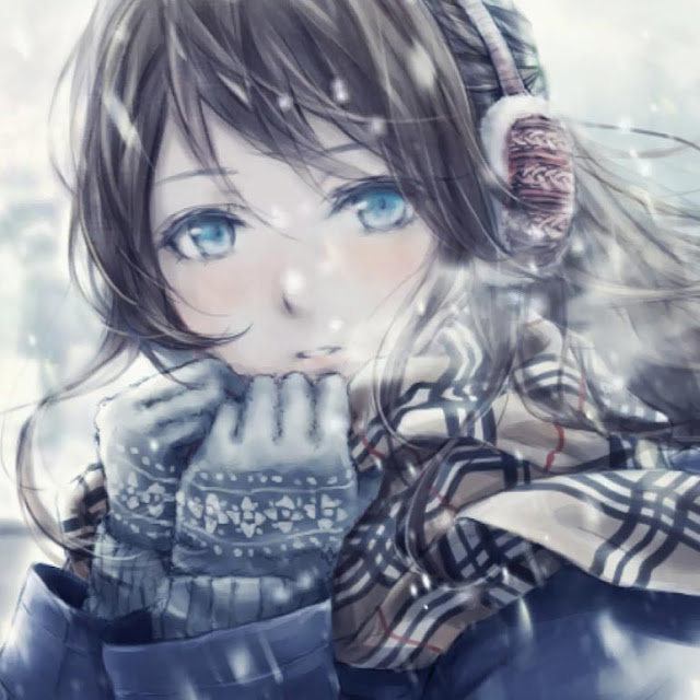 Winter Girl Wallpaper Engine