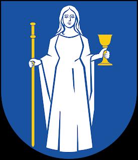Dame d'Alpha et d'Oméga  Kungsbacka_kommunvapen_-_Riksarkivet_Sverige