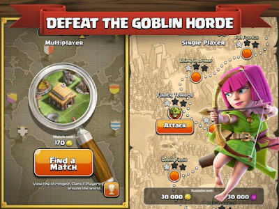 Games Clash of Clans Apk v8.709.16 (Mod Money)