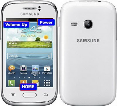 yang anda miliki mengalami permasalahan lupa teladan Cara Reset Samsung Galaxy young S6310 Atasi Lupa Pola
