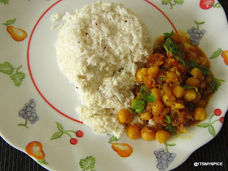 Kadala curry-Kerala style chickpeas curry