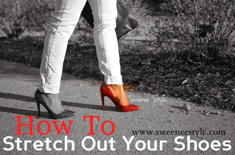 如何伸出鞋子
