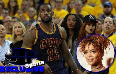 Rihanna Seems To Be Making It Known That She Has  Her Eye On Cavaliers Star LeBron James