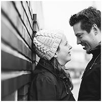 Nils Elfers und Corinna Overkamp