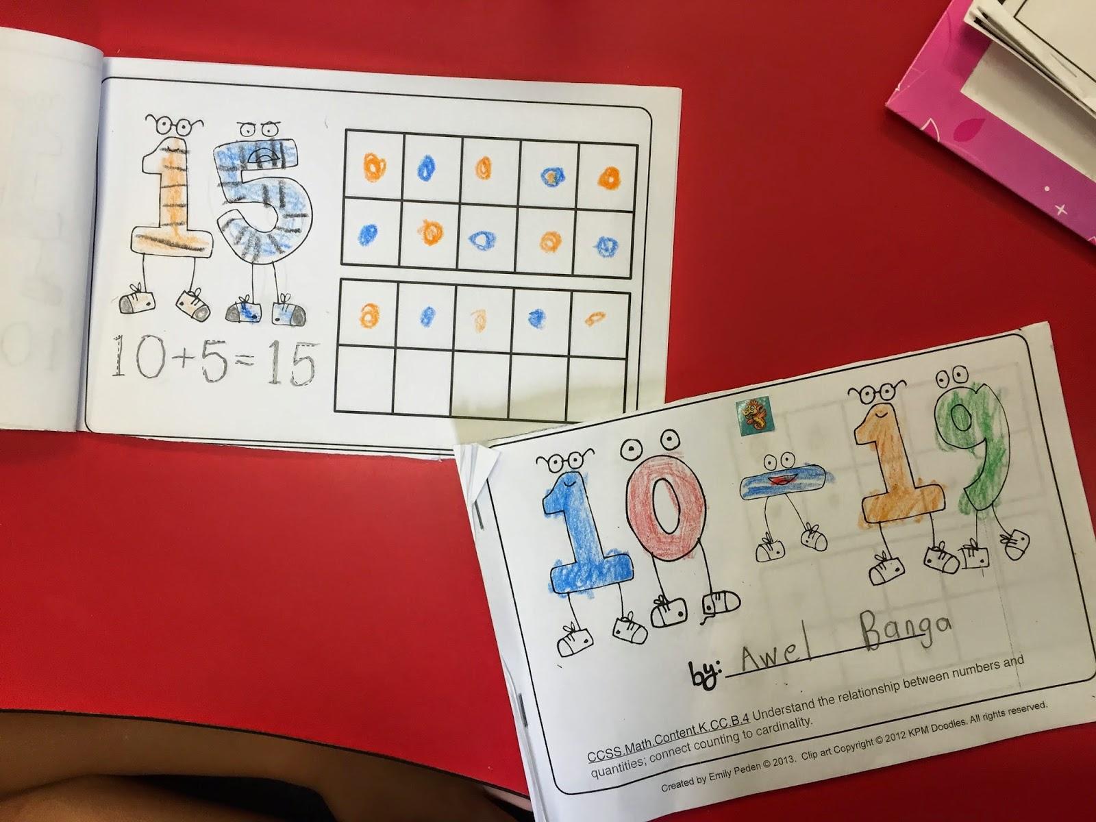 A Neighborhood Kindergarten Place Value In Kindergarten