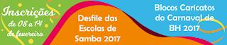 REGULAMENTO DO DESFILE DAS ESCOLAS DE SAMBA - CARNAVAL DE BH 2017