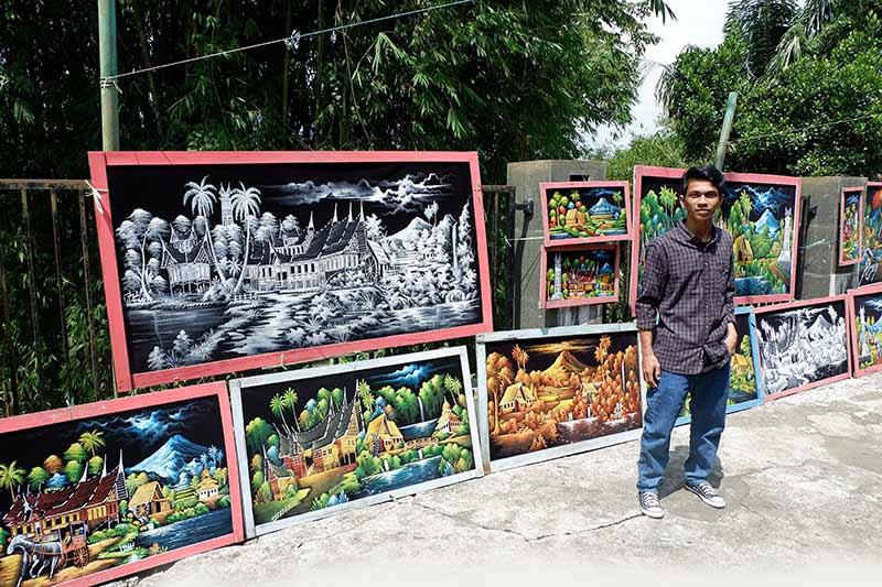 Asiknya Family Tour ke Tempat Wisata di Sumatera Barat Bareng Blackpaint Art, ada banyak objek wisata di sumatera barat