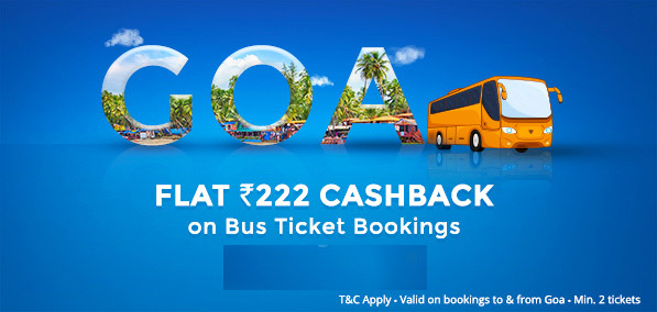 Paytm Offer GOABUS @Book Online Bus Tickets For Goa
