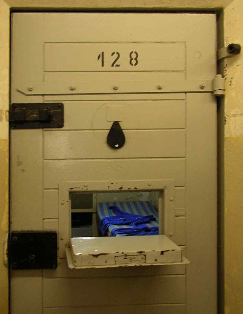 Cela na prisão da STASI em Berlim