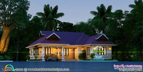stunning traditional new Kerala home design