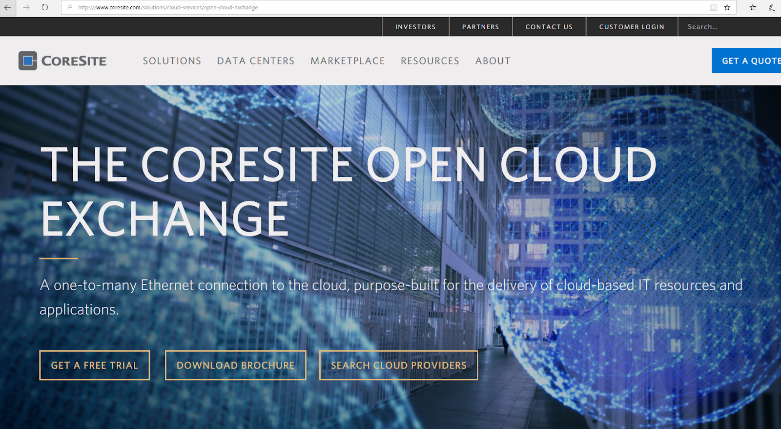Converge! Network Digest: CoreSite's Cloud Exchange offers