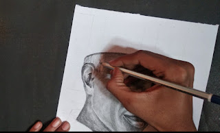 In progress drawing