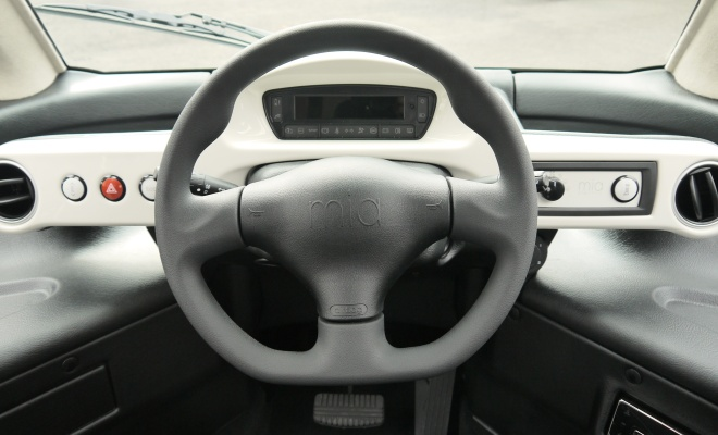 Mia EV dashboard