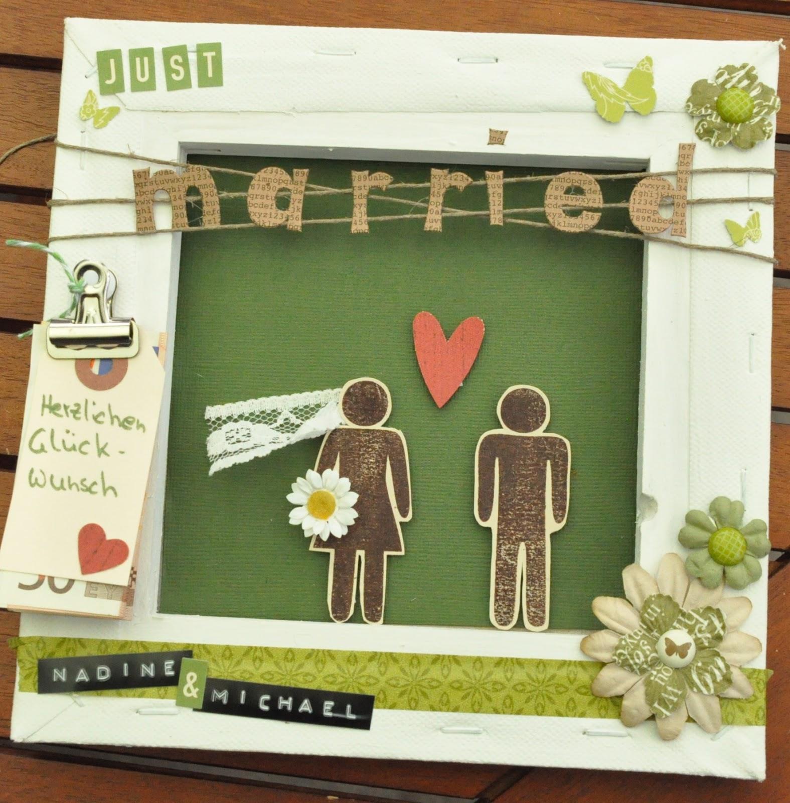 Geschenk Standesamtliche Hochzeit Hochzeitsgeschenk Herz