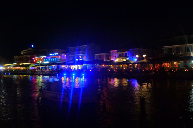 lefkada by night