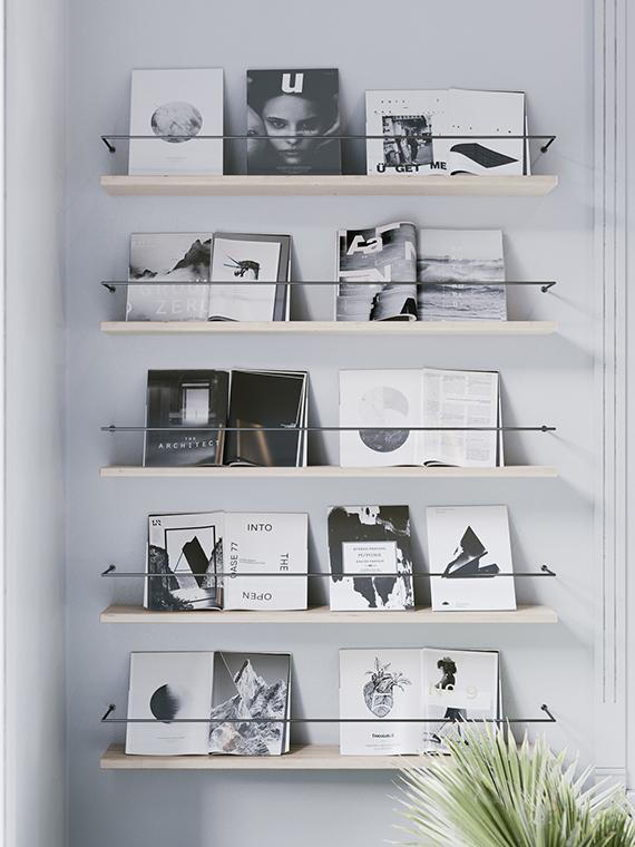 Bright calm workspace by Nefeli Kallianou