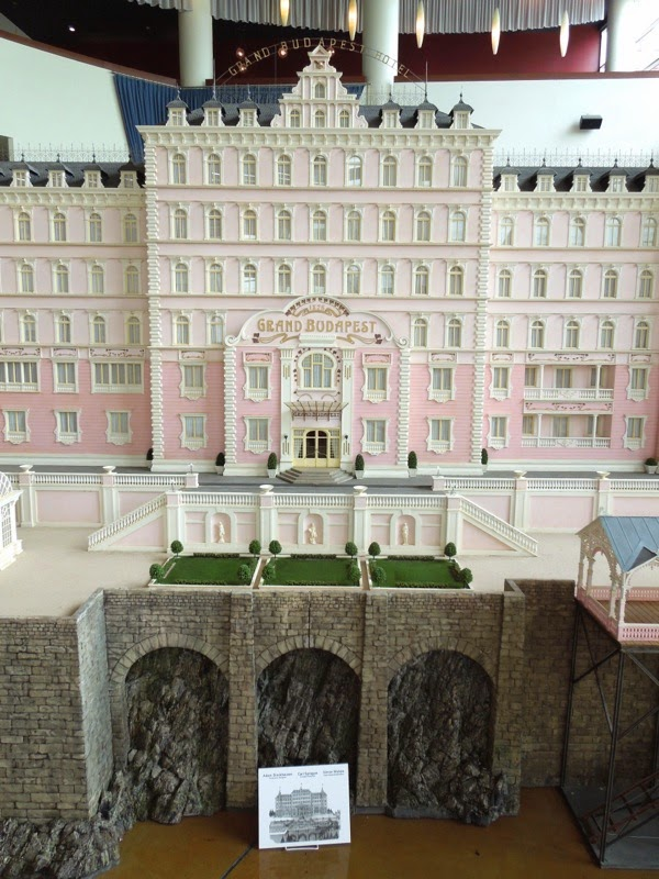 The Grand Budapest Hotel original model