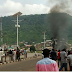 Kogi Poly students riot over death of colleague killed by Dangote truck (Photos)